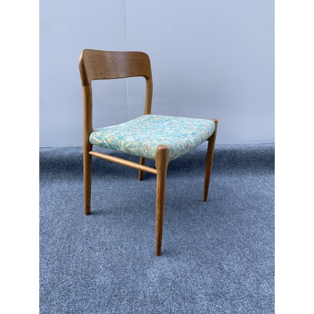 1960s Danish Side Chair by j.l. Moller for Højbjerg For Sale - Image 12 of 12