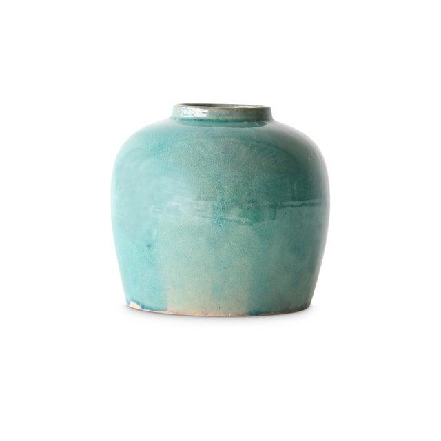 Minimalist Blue Ginger Jar For Sale - Image 4 of 5