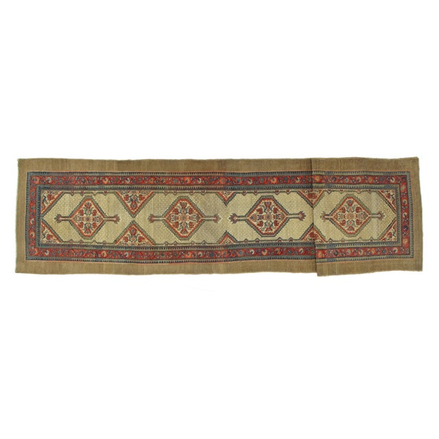 "Leon Banilivi Antique Sarab Runner - 3'5"" X 16' - Image 2 of 7"