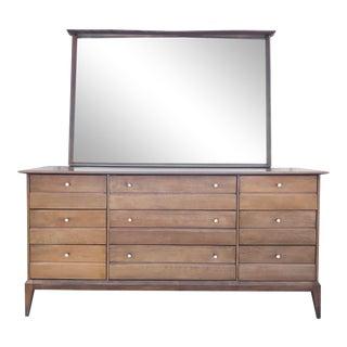 Heywood Wakefield Bedroom Dresser With Mirror For Sale