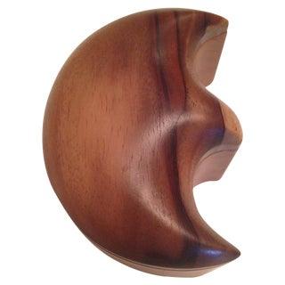 Mahogany Wood Box by Isaias Mendoza For Sale
