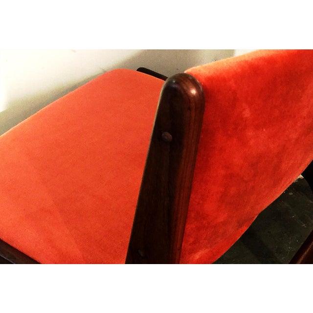 Arne Vodder Style Teak Side Chairs - Set of 4 - Image 7 of 9