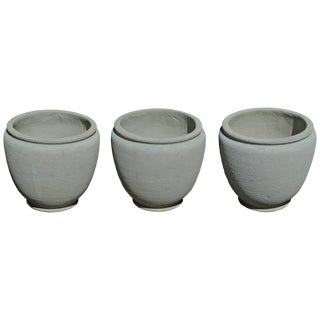 Round Concrete Urn Planters For Sale