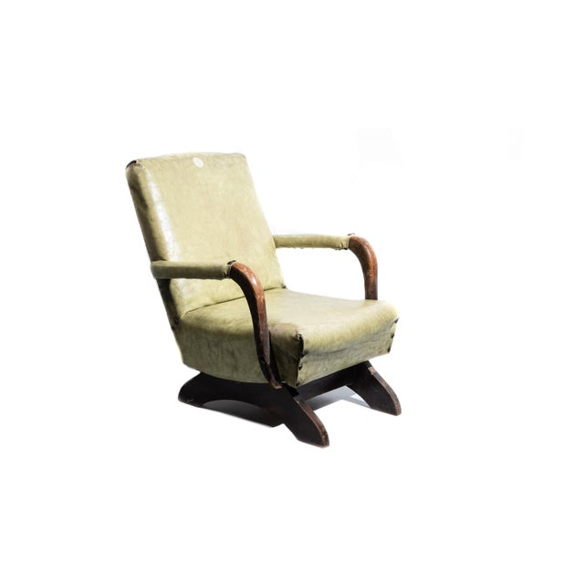 1930s Nursery Child Size Rocking Chair For Sale In Chicago - Image 6 of 6