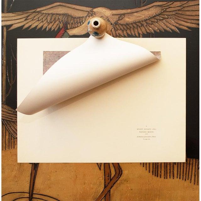 "André Derain 1947 André Derain Original Period ""Still Life"" Lithograph For Sale - Image 4 of 8"