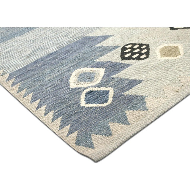 """Mid-Century Modern Nalbandian - Contemporary Egyptian Kilim - 9'10"""" X 14'2"""" For Sale - Image 3 of 6"""