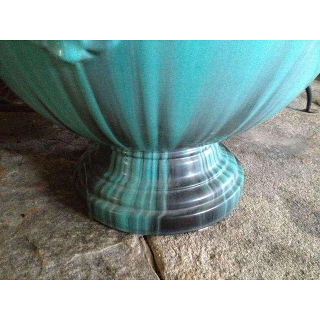 A Massive French TurquoisePottery Jardiniere by Clement Massier Golfe-Juan - Image 2 of 5
