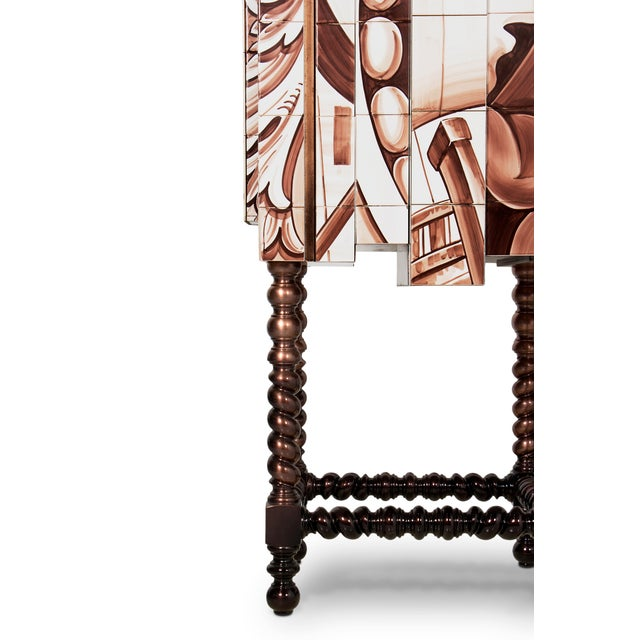 D. Heritage Cabinet From Covet Paris For Sale - Image 6 of 7