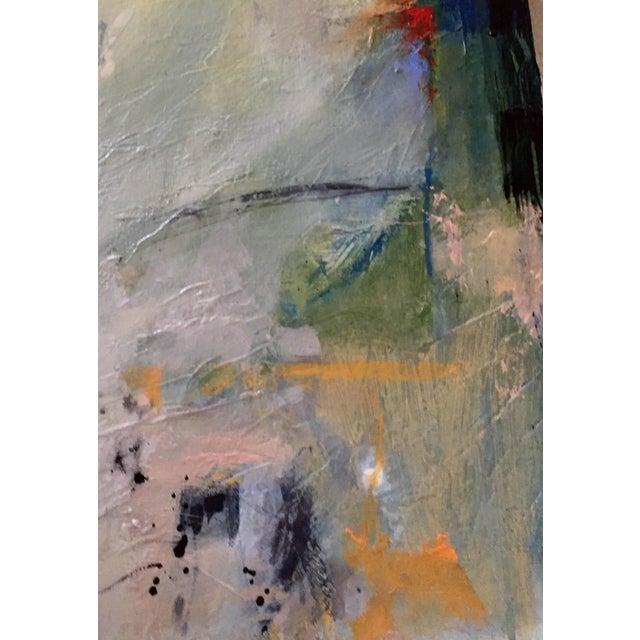 Large Original Abstract Landscape Titled 'Somewhere, Maybe' For Sale - Image 4 of 7