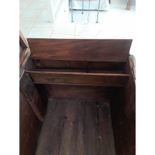 1980s Javanese Teak Wood Chest For Sale - Image 12 of 13