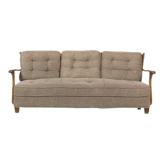 Mid Century Sculptural Swedish Sofa