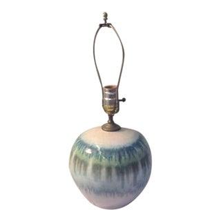 Studio Art Pottery Lamp