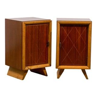 Beautiful Pair Cabinets in the Style of Paul Frankl For Sale