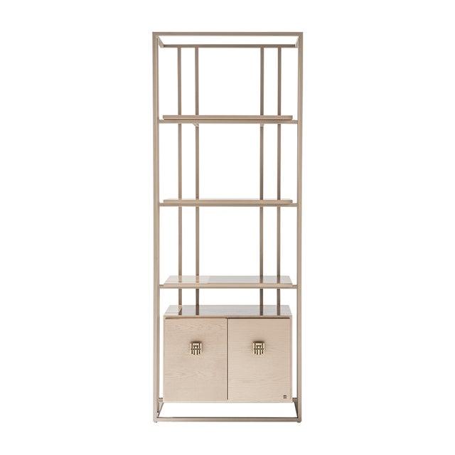 Contemporary Adriana Hoyos Bolero Bookcase 210 For Sale - Image 3 of 3
