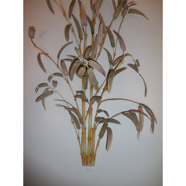 Italian Bamboo Wall Sculptures - A Pair - Image 4 of 12
