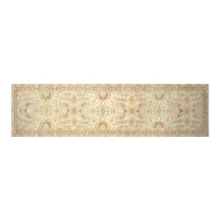 """Contemporary Egyptian Sultanabad Carpet - 4'10"""" X 18'2"""" For Sale"""