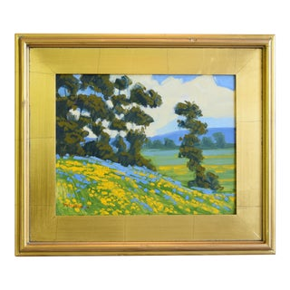 M. Graison, California Plein Air Landscpe Oil Painting