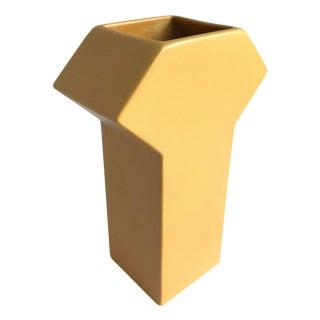 1980s Sculptural Vase