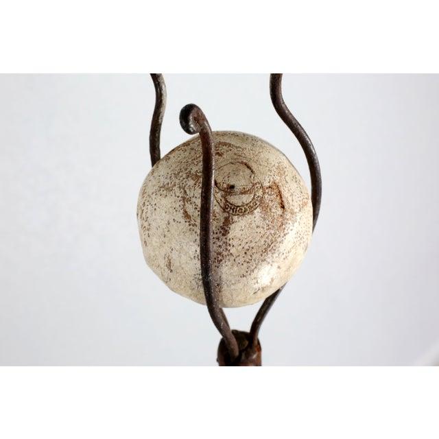 Traditional Antique Polo Ball Retriever Includes Original Bamboo Polo Ball For Sale - Image 3 of 9