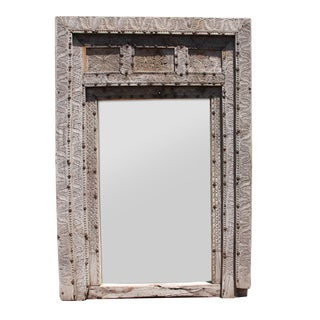 Mogul Carved Doorway Mirror For Sale