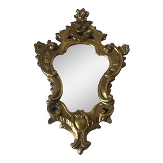 Borghese Gold Wall Mirror