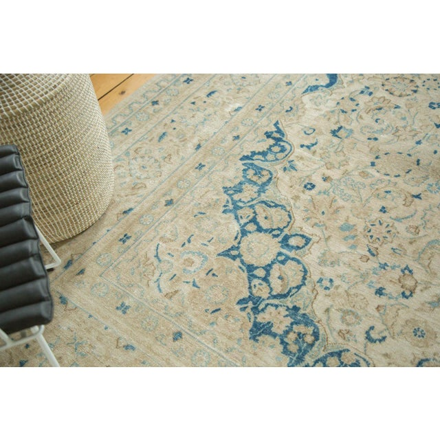 """Vintage Distressed Meshed Carpet - 9'9"""" x 12'10"""" For Sale In New York - Image 6 of 9"""