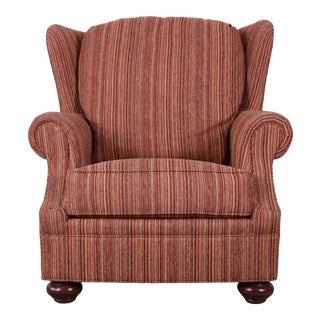 Stickley Wingback Lounge Chair For Sale