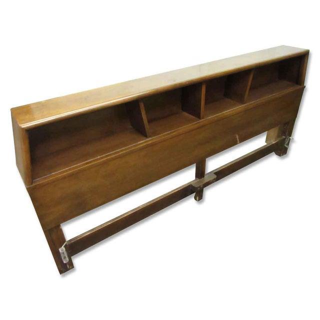 Golden Oak Headboard For Sale - Image 9 of 9