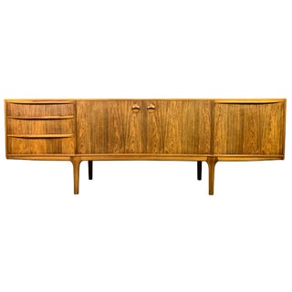 1960s Mid Century Modern A. H. McIntosh Rosewood Credenza For Sale