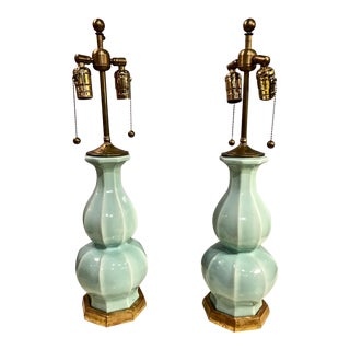 Early Christopher Spitzmiller Signed and Dated Lamps For Sale