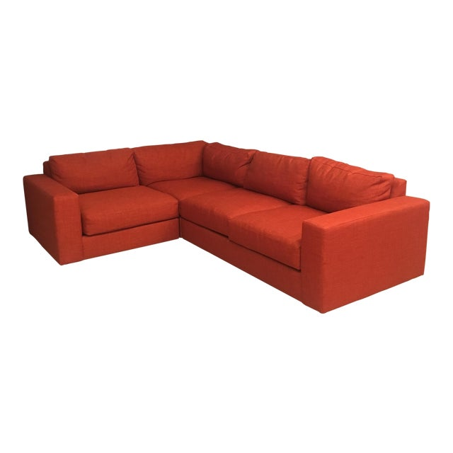 West Elm Cayenne Sectional - Image 1 of 3