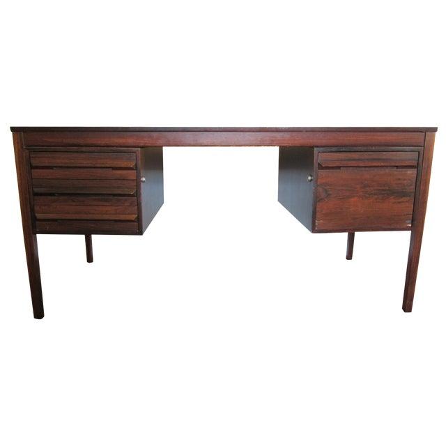 Torbjorn Afdal Mid-Century Rosewood Desk - Image 1 of 11