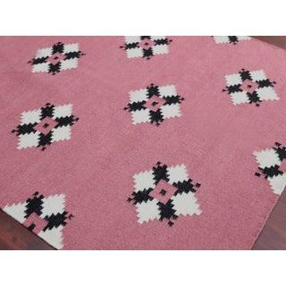 Zara Southwestern Pink Flat-Weave Rug 8'x10' Preview
