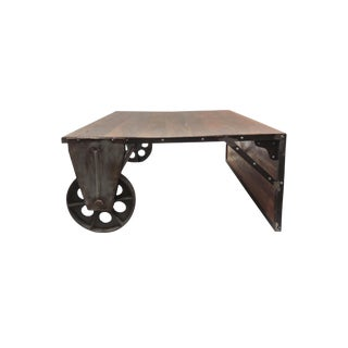 Rustic Aloin Console Table