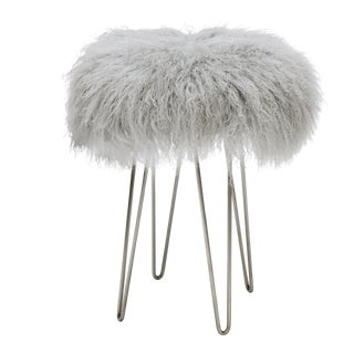 Curly Hairpin Counter Stool Grey For Sale