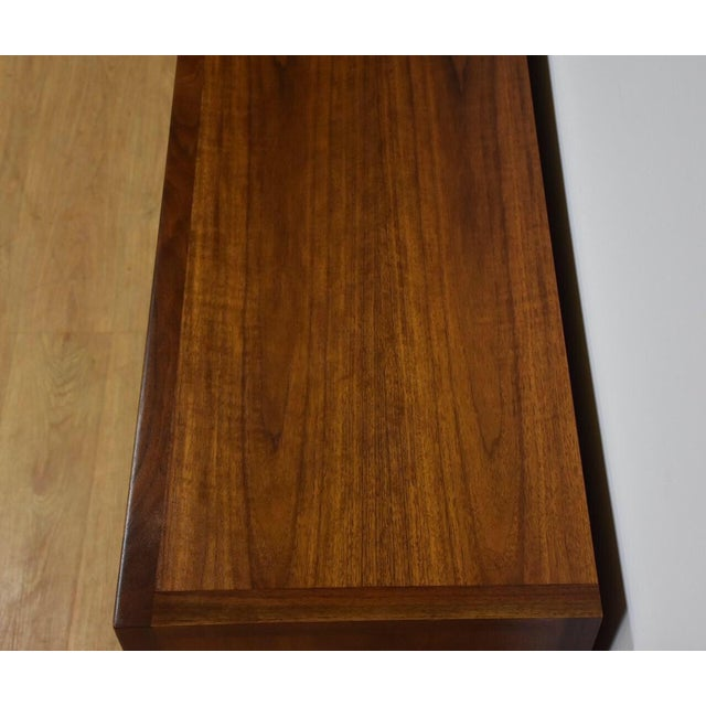 Janus Collection Mt. Airy Walnut Dresser For Sale - Image 5 of 11
