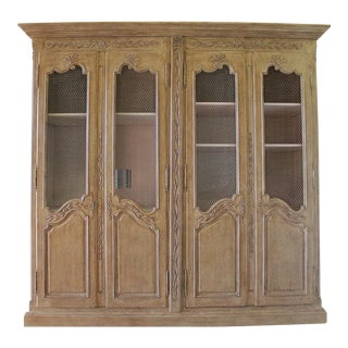 French Style Armoire Cabinet