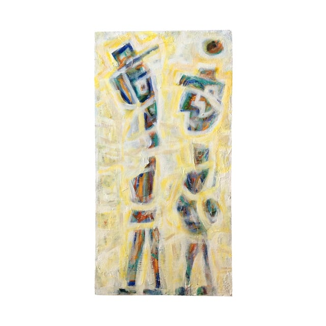 Contemporary Painting - Yellow Man - Image 1 of 3