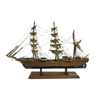 "Spanish Hand Crafted Model of the Schooner ""Eagle"" For Sale"