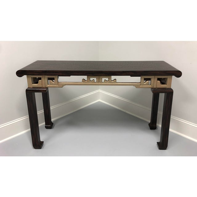Vintage Baker Asian Inspired Sofa Table Console For Sale - Image 12 of 12