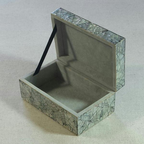 Abalone Shell Mosaic Box For Sale - Image 4 of 5