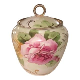 Vintage Victorian Ginger Jar