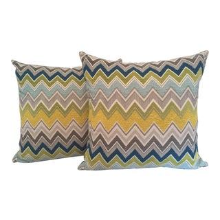 Schumacher Pillow Covers - A Pair
