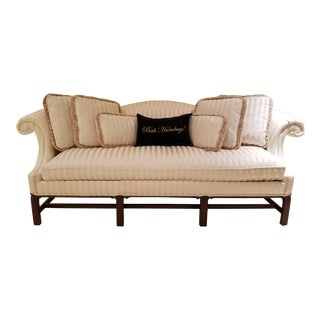 Hickory Chair Furniture Company Chippendale Sofa/Settee For Sale