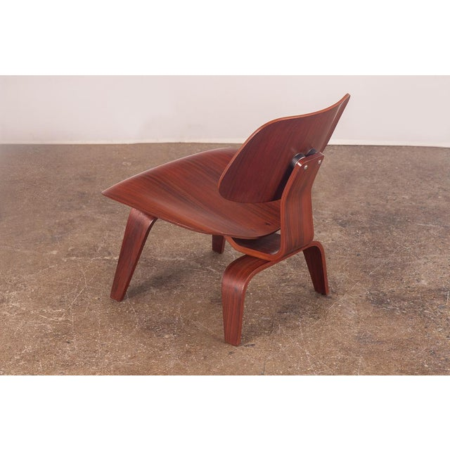 Rare Eames Pre-Production Rosewood LCW - Image 4 of 11