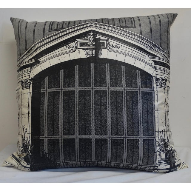 Architectural Print Pillow - Image 2 of 5