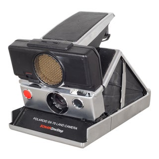 "Vintage Polaroid Land Camera ""Sx-70 Sonar One Step""c.1970 For Sale"