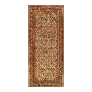 Beige Fine Antique Persian Nw Rug 5'6'' X 13' For Sale