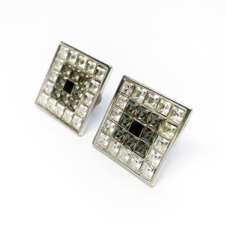 Square Couture Pierced Earrings by Yves Saint Laurent Preview