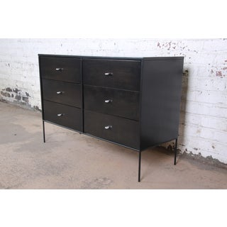 Paul McCobb Planner Group Iron Base Ebonized Six-Drawer Dresser or Credenza Preview